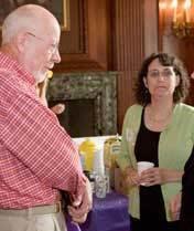 Sen. Fred Risser at Wisconsin Women's Network event